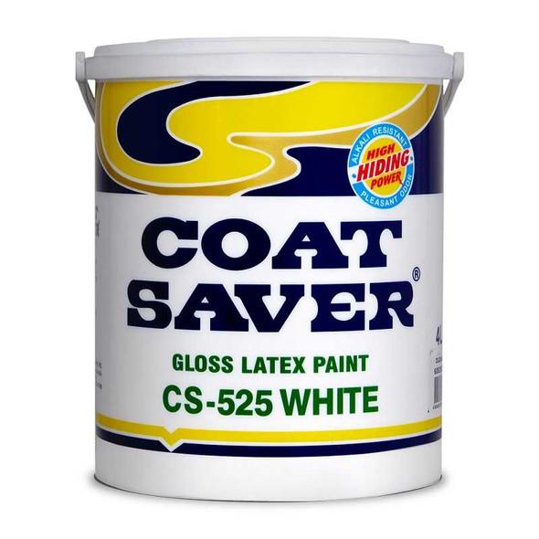 COATSAVER CS-525-4 COAT SAVER LATEX GLOSS WHITE 4L