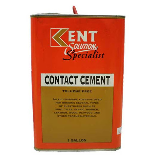 KENT SOLVENT ADHESIVE / CONTACT CEMENT  GALLON