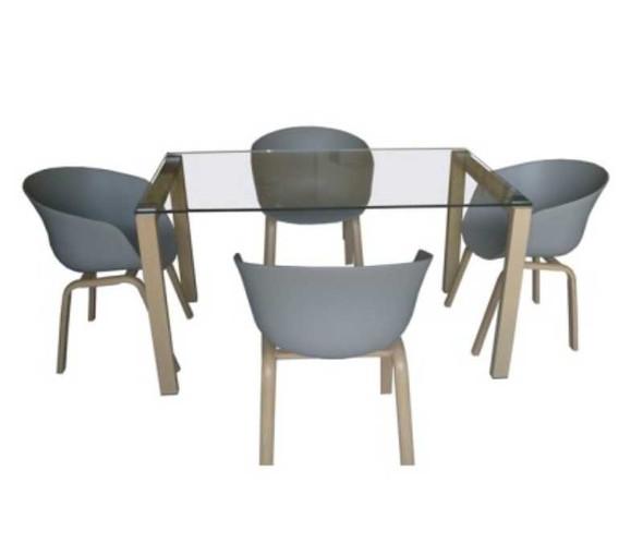 Konnie 4 Seater Dining Set