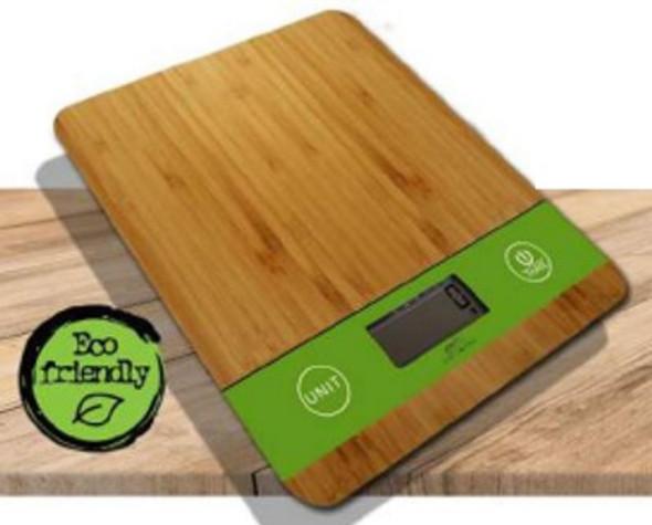 Infiniti Natural Bamboo Platform Scale
