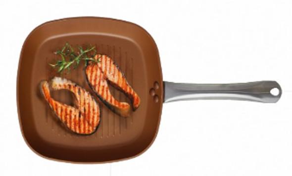 Masflex NK-FCp 28cm Copper Grill Pan