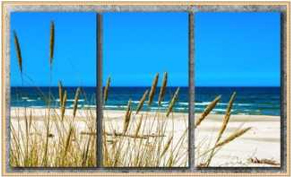 Triptych Wall Art 3IN1 16x32 Baltic Sea
