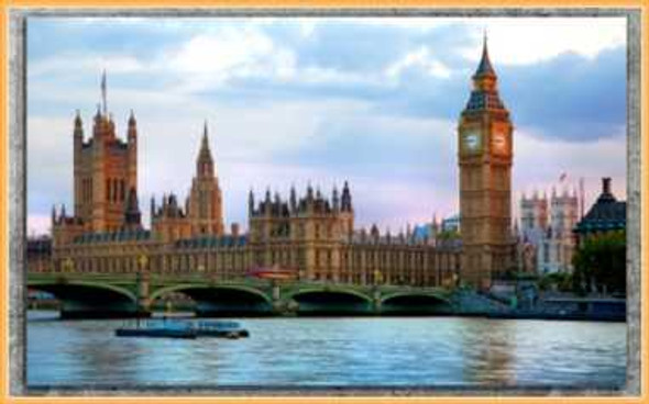Easyart Canvas 25x38 Big Ben Parliament Houses