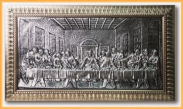 Wall Art 21x37 The Last Supper 2