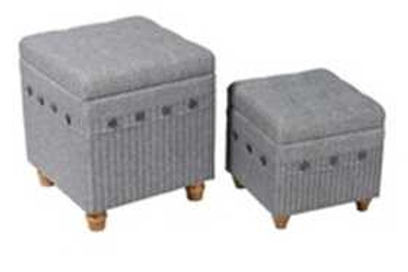 Brady 2pc Ottoman with Storage