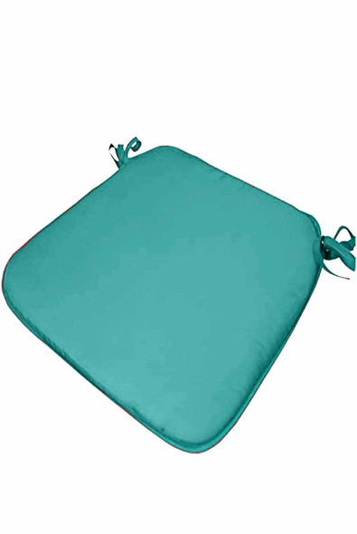 """CASABELLA 13.8""""x16"""" SOLID M.BLUE CHAIRPAD"""