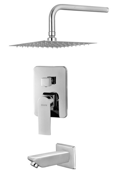 BRAUHN IRMGARD SF006S CONCEALED MIXING BATH & SHOWER