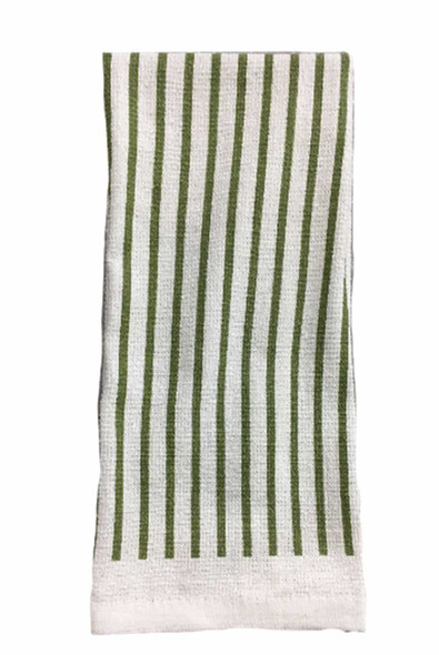 "CASABELLA 14""x24"" SOLID GREEN KITCHEN TOWEL"