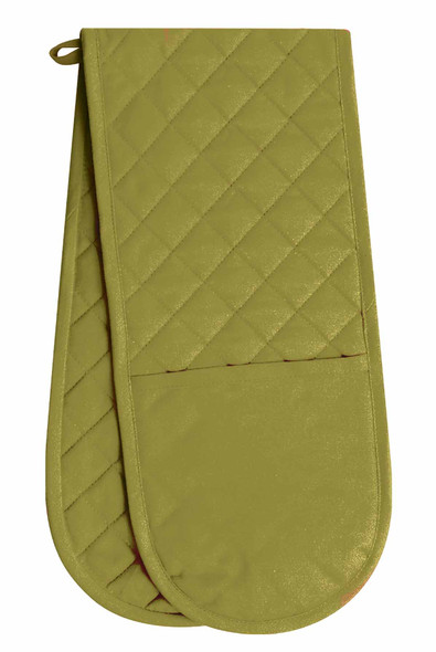 "CASABELLA 27""x27"" SOLID GREEN-2 POT HOLDER"