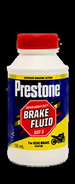 PRESTONE MOTORCYCLE BRAKE FLUID 150ML