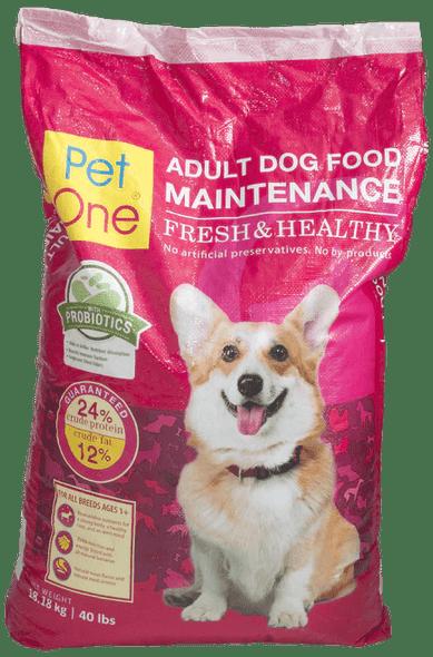 PET ONE ADULT DOG FOOD 18.18KG