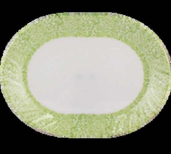 """Jade 12"""" Oval Platter"""