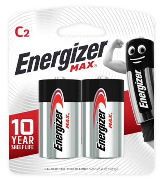 ENERGIZER BATTERY E93BP2 MAX C 2S CARBON ZINC