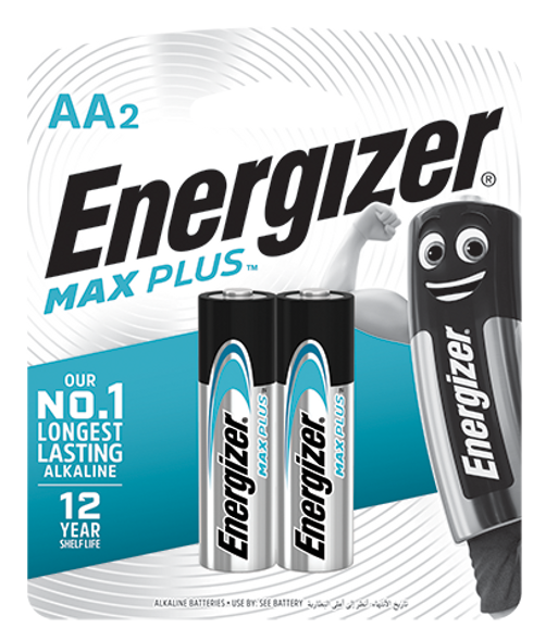 ENERGIZER ALKALINE BATTERY EP91BP2 MAX PLUS AA 2S