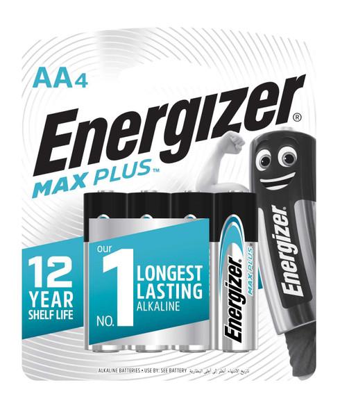 ENERGIZER ALKALINE BATTERY EP91BP4 MAX PLUS AA 4S