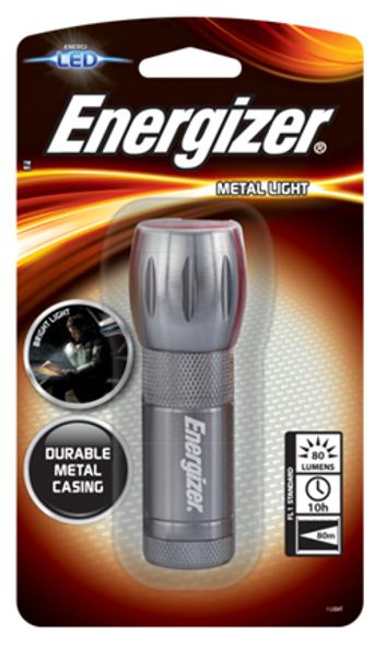 ENERGIZER ML33-3AAA LED METAL LIGHT W/O BATTERY
