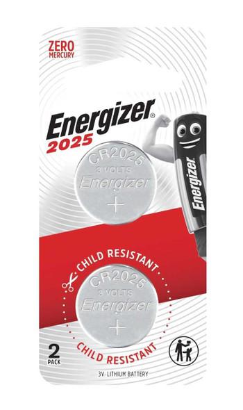 ENERGIZER CR2025BP2 LITHIUM COIN BATTERY 3V