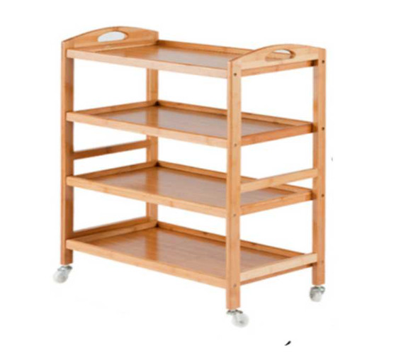 Xia Bamboo Kitchen Trolley