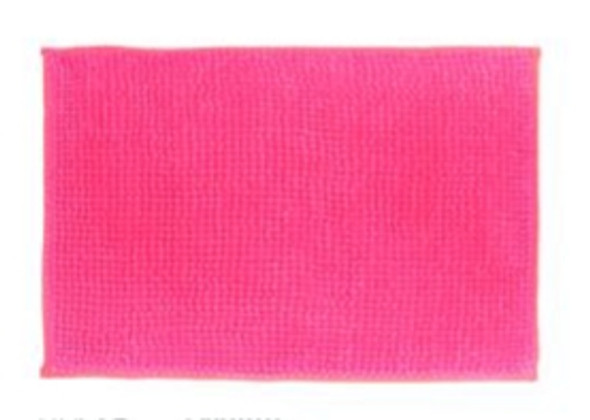 "40""x60"" Light Pink Microfiber Bathrug"