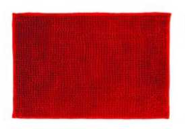 "40""x60"" Red Microfiber Bathrug"