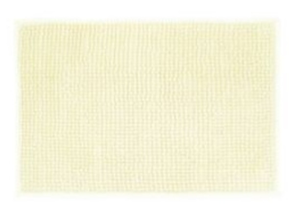"40""x60"" Cream Microfiber Bathrug"