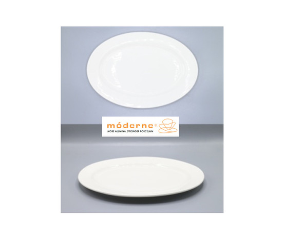 Moderne Oval Plate 9inch