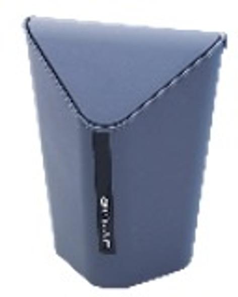TRIANGLE trash BIN W/ SWING LID 6.5 (GRAY)