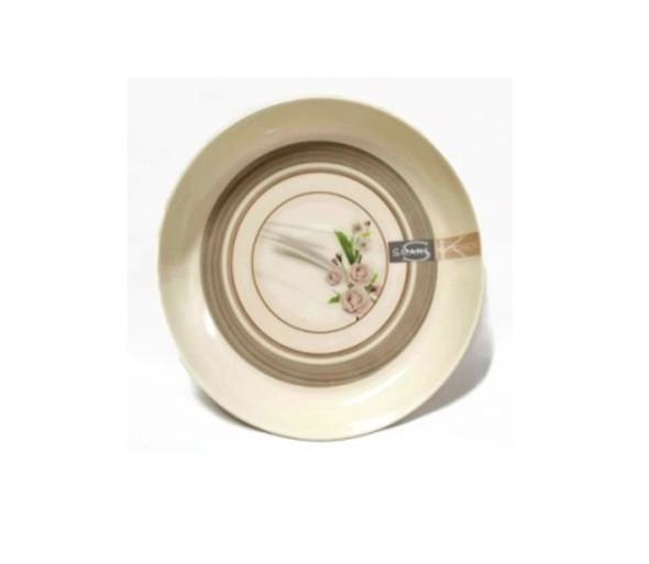 "Beatrice 8"" Fruit Plate Melamine"