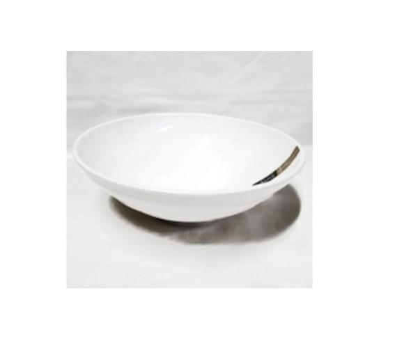 "White  8"" Ramen Bowl Melamine"