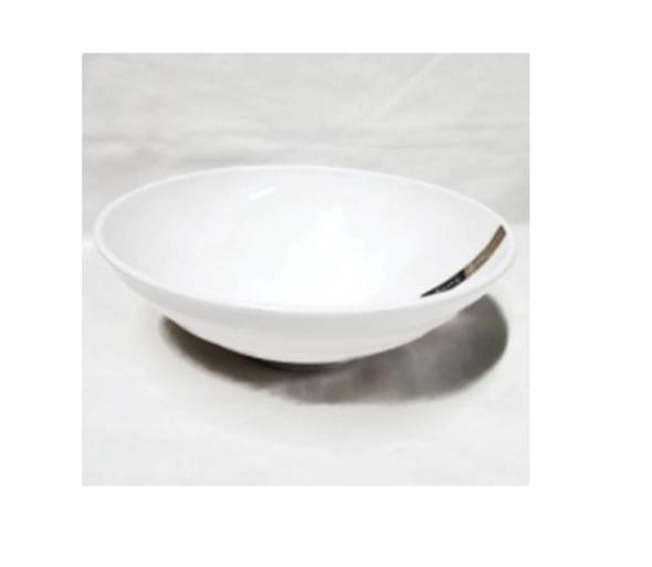 "White  9"" Ramen Bowl Melamine"