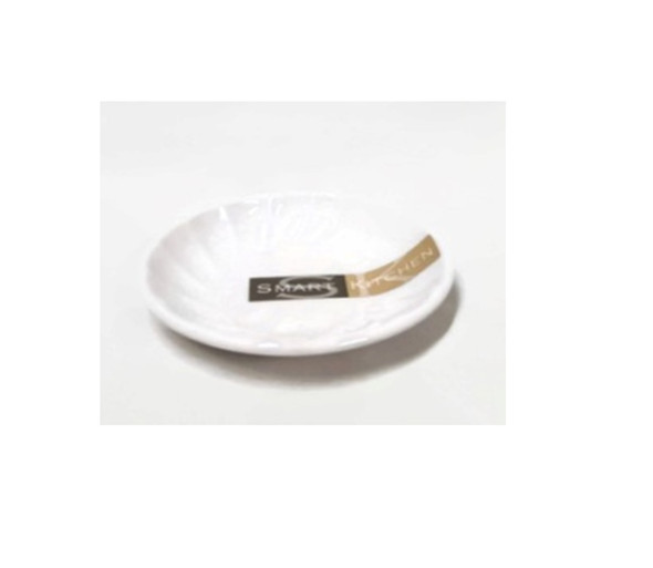 White Soy Dish Melamine