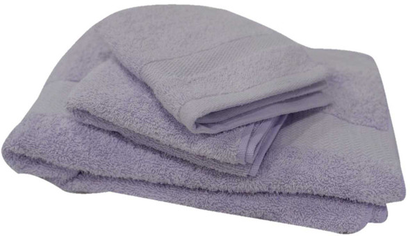 Homethreads Collection A 140x70mm Light Violet Bath Towel