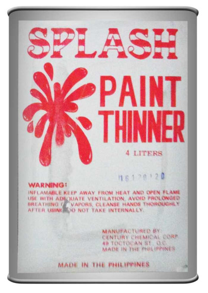 SPLASH S-33 PAINT THINNER 4L