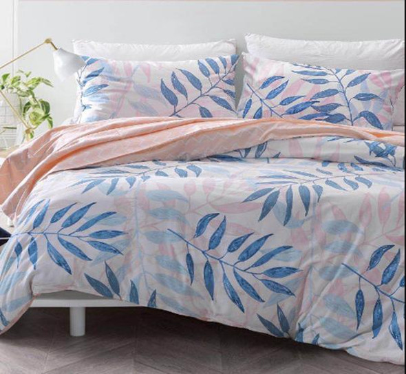 """Linens N Things 20""""x30"""" Leaf 2-Piece Pillow Case (Queen)"""