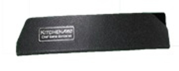 KG-8W 8IN KNIFE GUARD WIDE BLACK