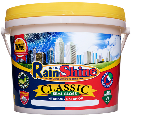 RAIN OR SHINE ROS-CL-100 CLASSIC SEMI-GLOSS WHITE 1L
