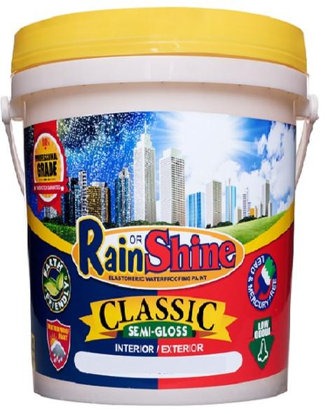 RAIN OR SHINE ROS-CL-100 CLASSIC SEMI-GLOSS WHITE 16L