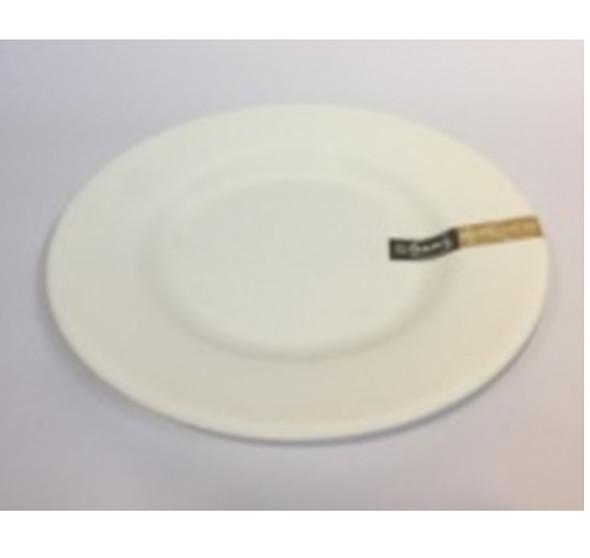 """DINNER PLATE UK MELA WHITE RND 12"""""""