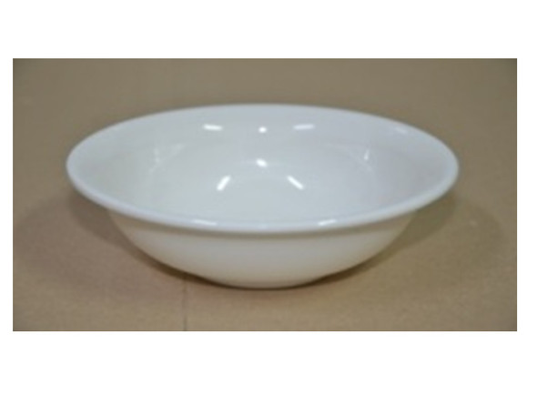 SERVING BOWL MELAMINE ROUND WHITE