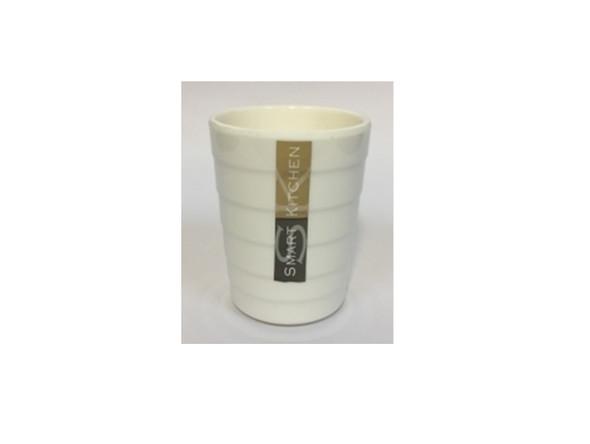 TUMBLER MELAMINE ROUND WHITE (9006)