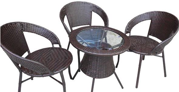 Skyla 3 seater Garden Coffee Set