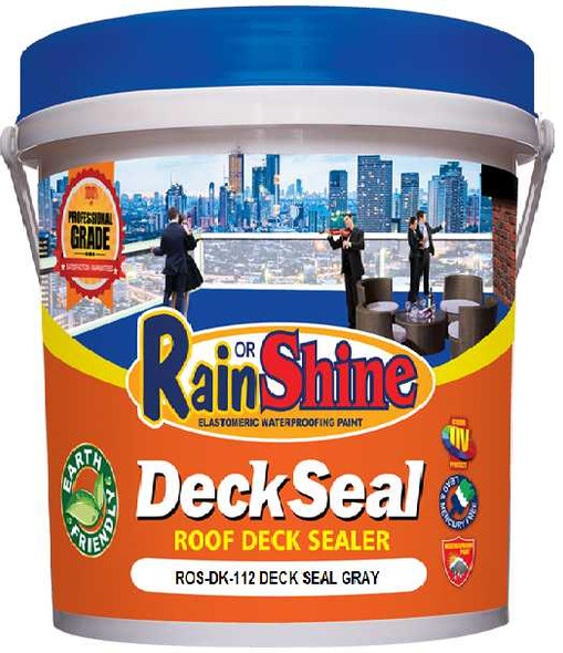 RAIN OR SHINE ROS-DK-112 DECK SEAL GRAY
