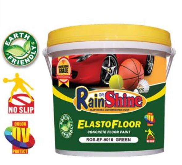 RAIN OR SHINE ROS-EF-9010 ELASTO FLOOR GREEN 4 LITERS