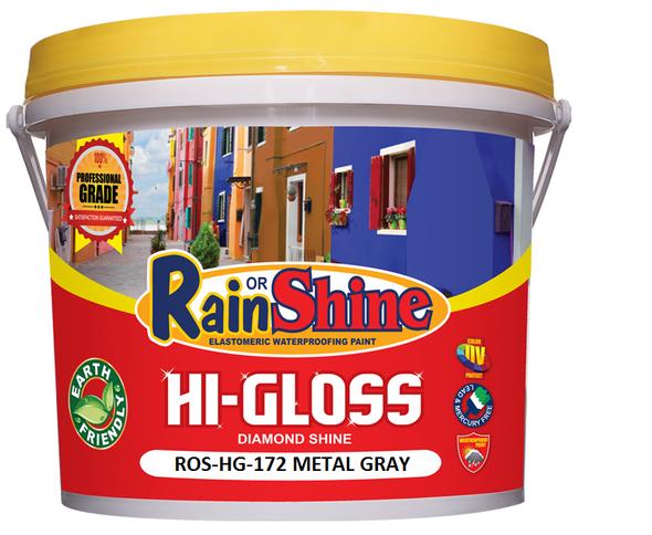 RAIN OR SHINE ROS-HG-172 HI-GLOSS METAL GRAY
