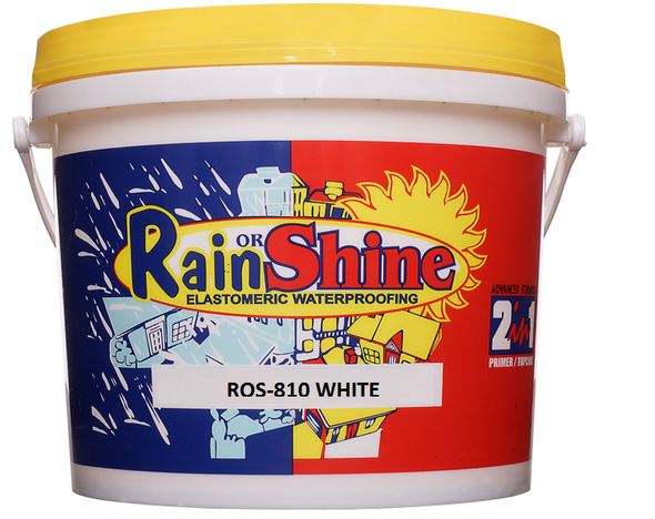 RAIN OR SHINE ROS-810 SPECIAL TOPCOAT GLOSSY WHITE