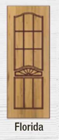 Terrawood Solid Panel Door Florida