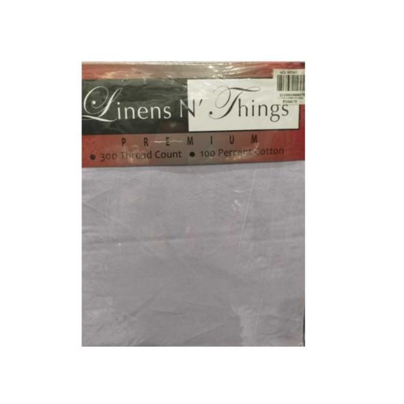 Linens N Things Queen Blueish Grey 4-Piece Bedsheet