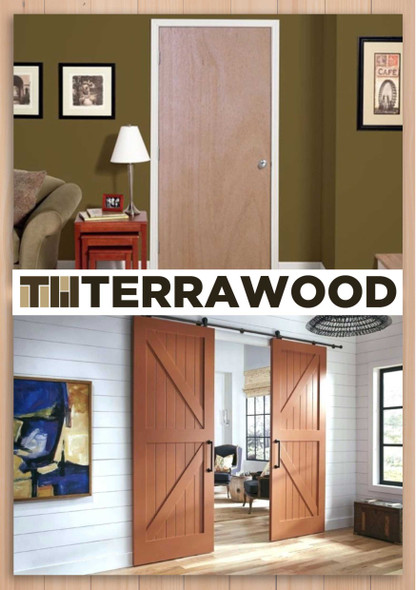 Terrawood Solid Panel Door Thailand