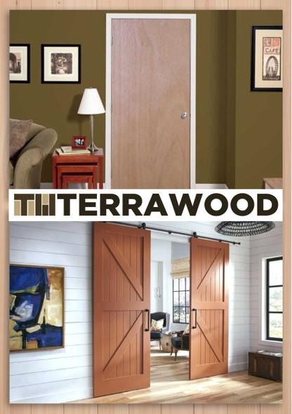 Terrawood Solid Panel Door Tokyo