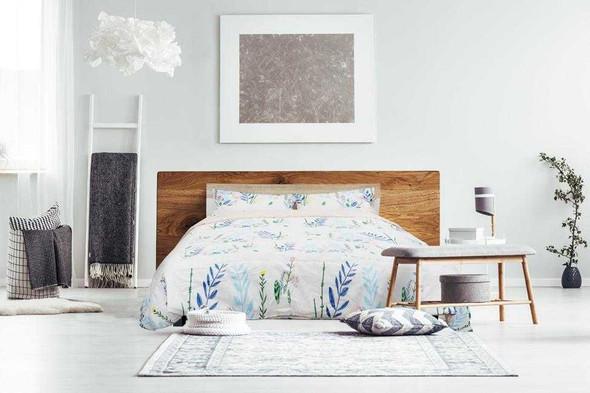 HomeThreads Queen Ikea4 3-Piece Fitted Bedsheet Set
